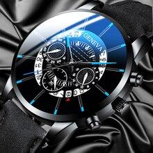 Reloj Hombre Mens Fashion Watches Military Sport Date Calendar Quartz W