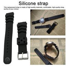 Ремешок для часов силиконовый резиновый ремешок для часов Ремешок для часов водонепроницаемый спортивный ремешок 2 универсальный ремешок 18 мм 20 мм 22 мм