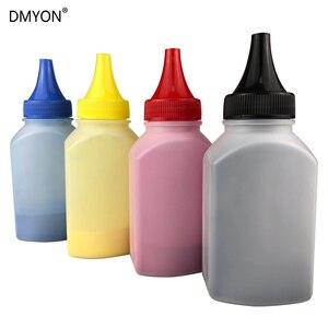 Image 1 - Dmyon 4 cores toner pó para xerox phaser 6121 mfp 6121mfp 106r01463 106r01464 106r01465 toner poderes