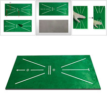 Прямоугольный Коврик для игры в гольф, 24x12 дюймов