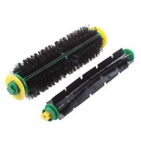 Bristle Brush + Flexible Beater Brush For iRobot Roomba 500 Series 550 570 Clean|Cleaning Brushes| |  -