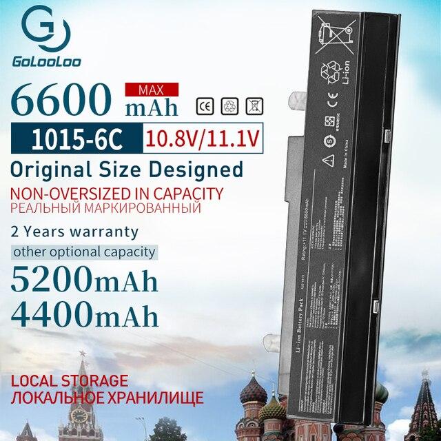 6600 mAh 6 Celle Batteria Del Computer Portatile Per Asus A32 1015 A31 1015 AL31 1015 per Eee PC 1015PDT 1015P 1215 1215B 1215N 1015b 1015 1015bx