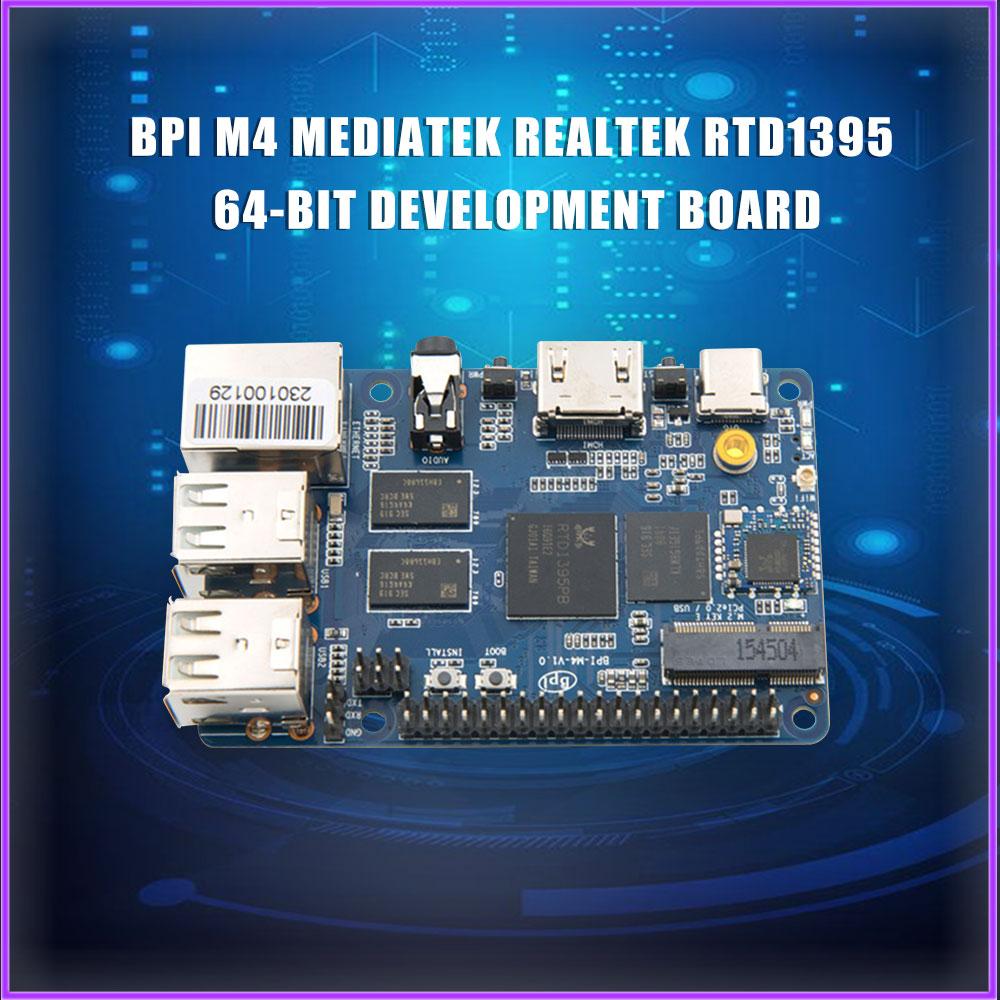 Banana Pi BPI M4 MediaTek Realtek RTD1395 64 бит Совет по развитию, 1 г/2G на выш выбор