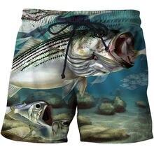 3d Пляжные штаны мужские быстросохнущие купальные шорты размера