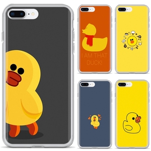Luxury Silicone Phone Case For Huawei Honor Y5 2018 2019 8S 9X Pro 20 10 10i Lite cool yellow duck(China)