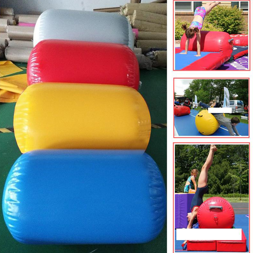 Kids Air Track Inflatable Gymnastics Tumbling Air Floor Yoga Mat For Childs Cheerleading Training Gym Inverted Backflip Exercise