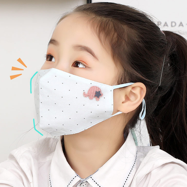 Antidust Cotton Mouth Masks For Newborn Babies Against Dust, Pollen, Allergens And Flu Germs Healthy Care Mask 2