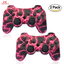 K ISHAKO for PS3 game controller wireless for Playstation3 Remot Ligthning Red For PS3 Console Gamepads Factory Wholesale price