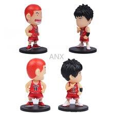 цена на 10CM Slam Dunk figure toya Kaede Rukawa Hanamichi Sakuragi PVC Action Anime Toys To Collection Gifts Slam Dunk Figure