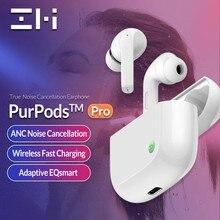 ZMI wersja globalna PurPods Pro Bluetooth 5.2 prawdziwe słuchawki bezprzewodowe ANC słuchawki douszne wodoodporne szybkie ładowanie w słuchawkach dousznych