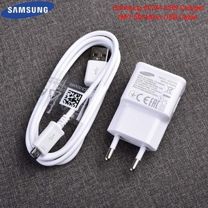 Samsung 5V/2A USB Charger Adapter 1M/1.5M Micro USB Fast Charging Cable For Galaxy S6 S7 EDGE NOTE 4 5 J1 J3 J4 J5 J7