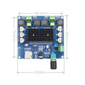 Image 5 - KYYSLB DC12 ~ 30V 100W * 2.05.0 wzmacniacz bluetooth pokładzie TDA7498 XH A105 wzmacniacz cyfrowy pokładzie wsparcie AUX na pokładzie potencjometr