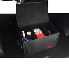 Lsrtw2017 Canvas Var Trunk Storage Box Bag for Kia K2 K3 K4 K5 Kx5 Sportage Forte Rio Interior Mouldings Accessories lsrtw2017 car door edge anti collision strip trims for kia k2 k3 k4 k5 kx5 sportage forte rio interior mouldings accessories