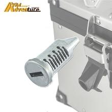 Cylinder blokujący do BMW R1250GS R1200GS LC R1250 R1200 GS przygoda F850GS F750GS Adv bagażnik górny siodło Box wkładka bębenkowa rdzeń wtyczki