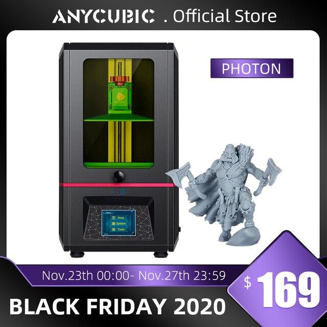 ANYCUBIC SLA 3D 프린터 광자 플러스 크기 2K 화면 오프라인 인쇄 UV LCD 405nm 수지 데스크탑 3D 프린터 키트 impresora 3d