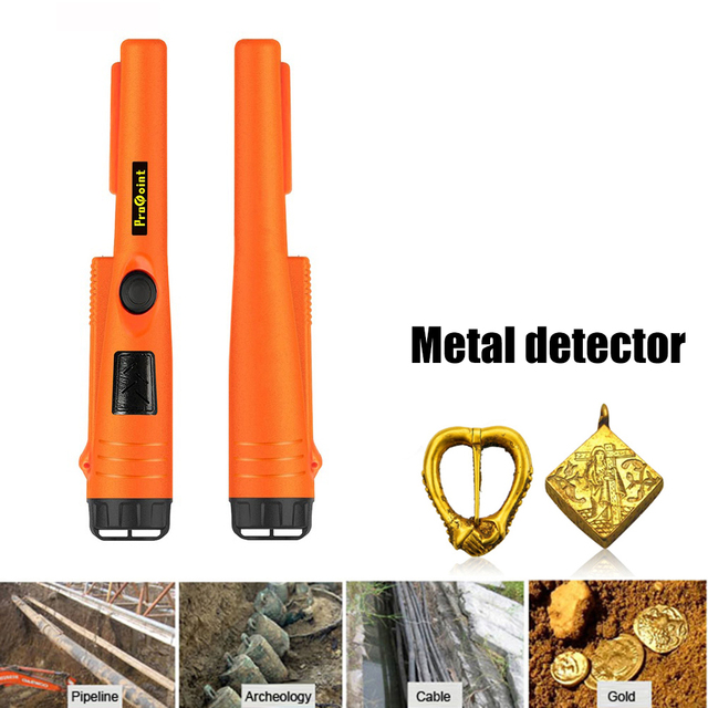 Handheld Metal Detector Security Inspection Pin Pointer Underground Treasure Locator Rod Archaeology Digger Device 1