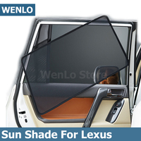 4Pcs Magnetic Car Side Window Sunshade Cover For Lexus RX NX IS UX LS RX200H RX300 RX350H NX200H IS250 LS500H LS350 Curtain