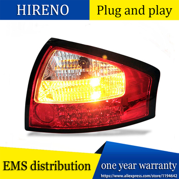 Car Styling Tail Lamp for Audi A6 taillights Tail Lights LED Rear Lamp LED DRL+Brake+Park+Signal Stop Lamp
