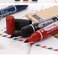 Высокое качество 5 шт. большой черный CD водонепроницаемый Быстросохнущий Перманентный чернильный маркер ручка для бизнеса офиса школьные п...