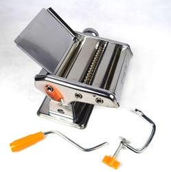 Wspaniałe córka in Law dwa nóż urządzenie do gotowania makaronu wielofunkcyjne gospodarstwa domowego ręcznie rozruchu ciśnienie powierzchni jednostka maszyna do ze stali nierdzewnej w Elektryczne urządzenia do gotowania makaronu od AGD na
