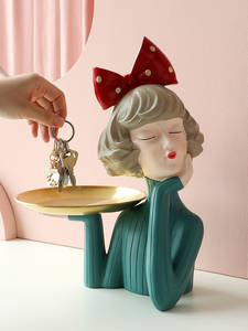 Ornaments Sculpture Statue Tabletop-Figurines Fairy-Accessori Gift Resin Art Home-Decoration