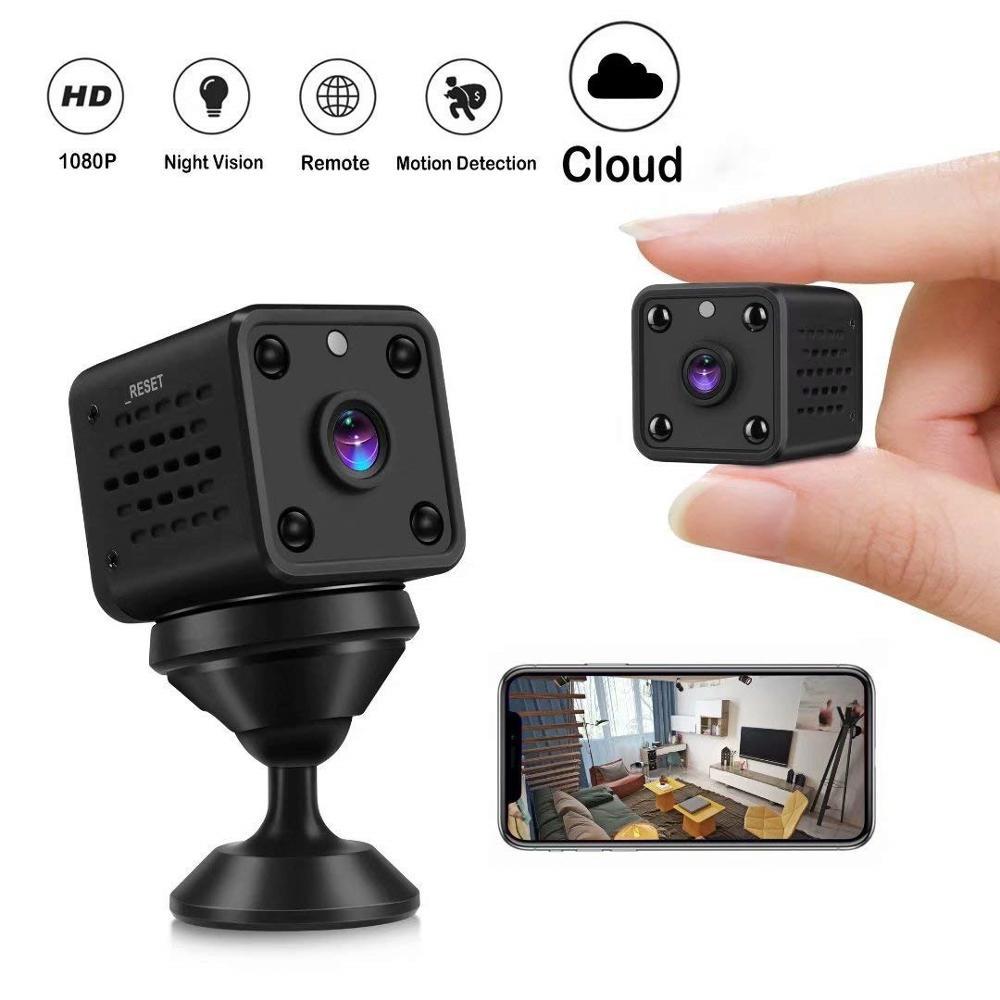 Mini Camera 1080P WIFI Camera HD Camcorder IP Camera Sensor Night Vision Remote Monitor Small Camera Wireless Surveillance Cam