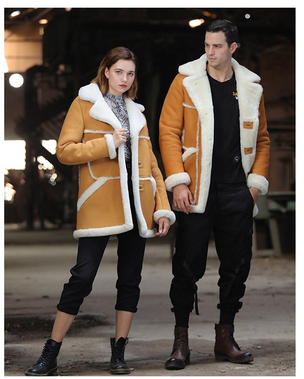 Hd72010e516e14935a277f26fc37e15bbX Men Luxury Fur Shearling Coat Yellow Soft Thicken Fur Coat Winter Male Formal Business Fur Sheepskin Jackets