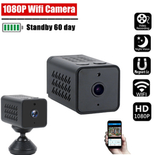 أصلي 1080p WJ11 واي فاي كاميرا صغيرة Samrt الرئيسية فيديو مسجل IP كاميرا للرؤية الليلية كشف الحركة كاميرا فيديو حلقة مسجل فيديو