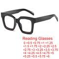 Очки для чтения женские с прозрачными линзами, от 0 до + 6,0