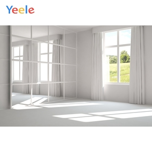 Image 4 - Yeele biały dom kurtyna okno słońce wnętrze fotografia tła dostosowane fotograficzne tła dla Photo Studio