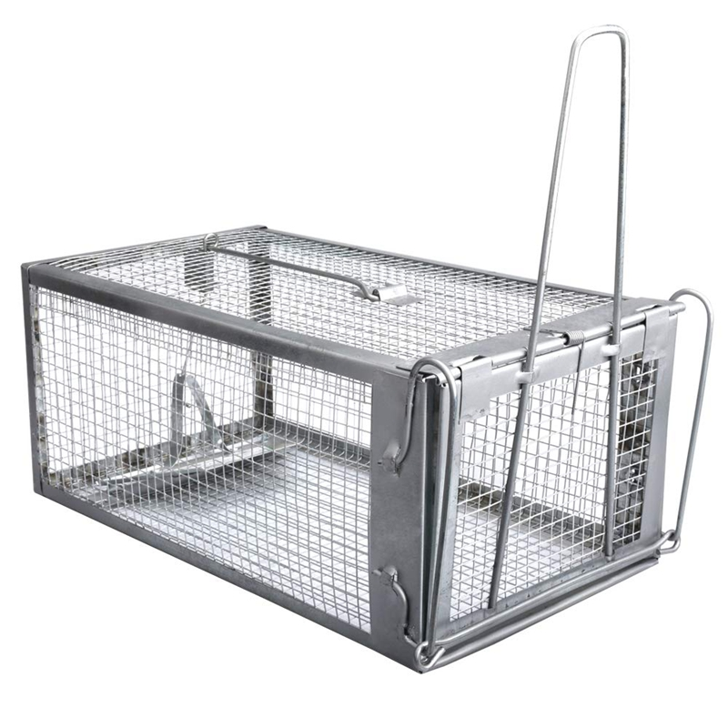 Hot Mouse Rat Trap Cage Live Animal Pest Rodent Mouse Control Bait Catch