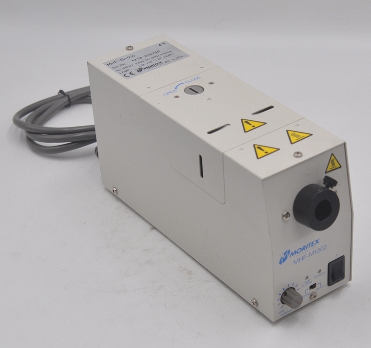 Japan MORITEX Yellow Light Source MHF-M1002 Industrial Camera Visual Light Source 230V 50 / 60Hz Cold Light Source