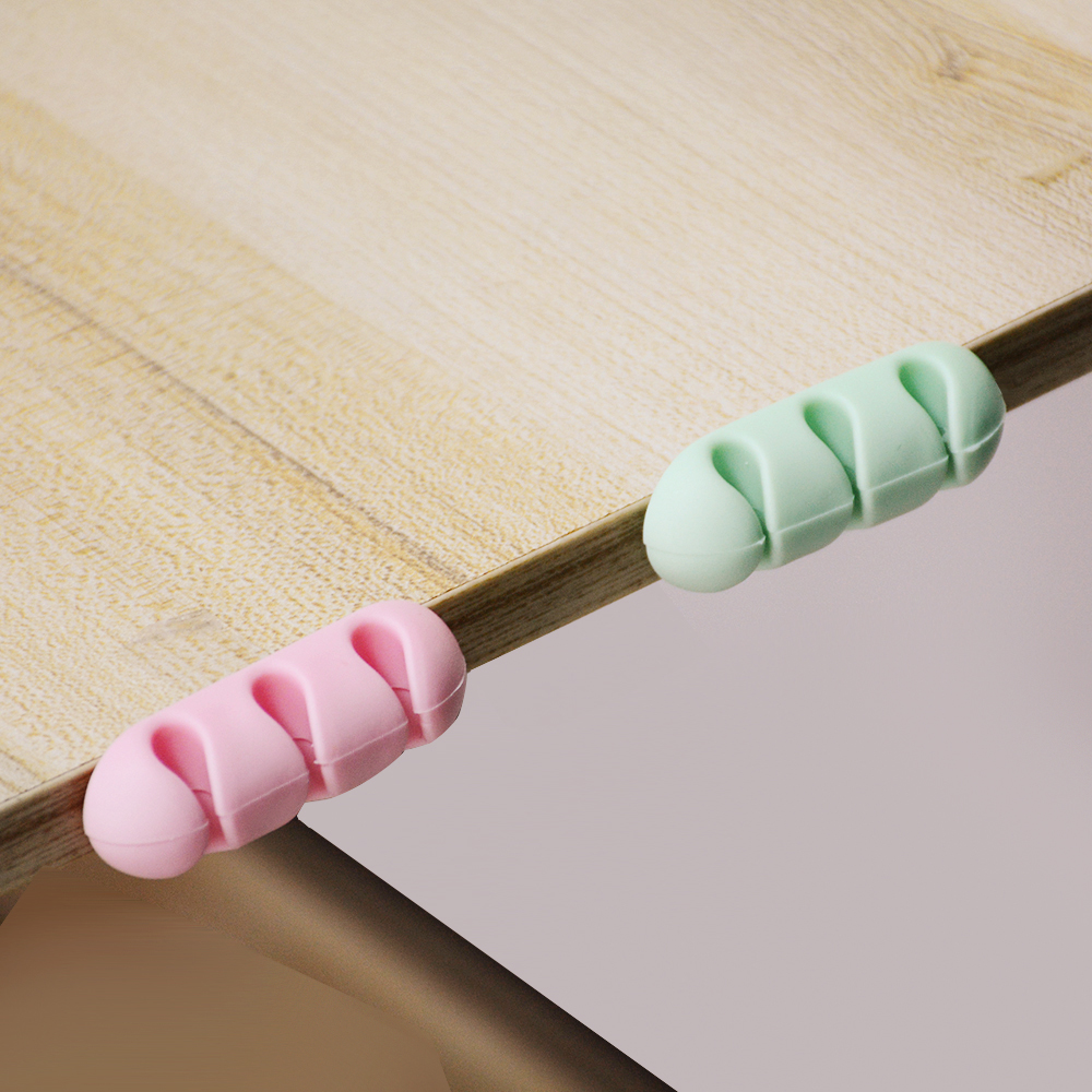 2 szt. Stelaż półki silikonowej kolor kabel urządzenie nawijające do odbierania słuchawek nawijarka skrzynka narzędziowa kolektora z regałem magazynowym