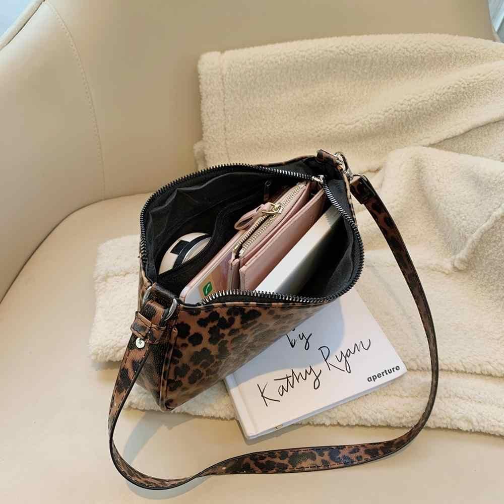2019 新ファッションワニのパターンのショルダーバッグ女性バッグハンドバッグ人格野生のファッション Pu レザーバゲットシェイプハンドバッグ