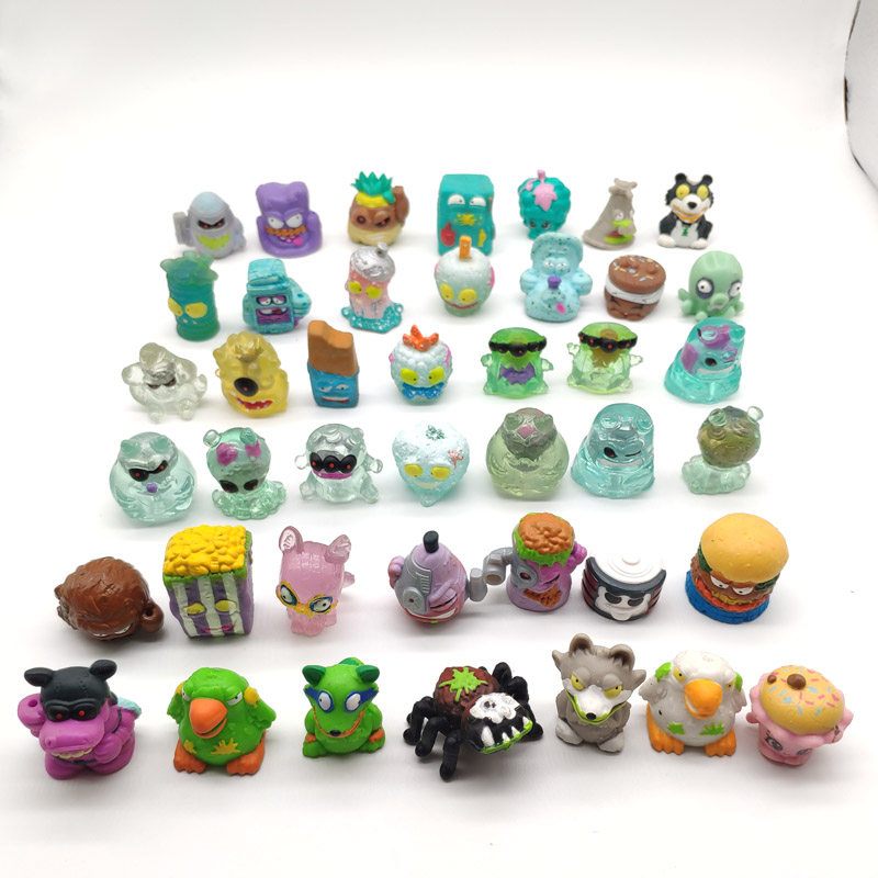 50PCS/LOT New Grossery Gang Action Figures Putrid Power Mini  Figure Toys Model Toys For Kids