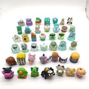 Image 1 - 50PCS/LOT New Grossery Gang Action Figures Putrid Power Mini  Figure Toys Model Toys For Kids
