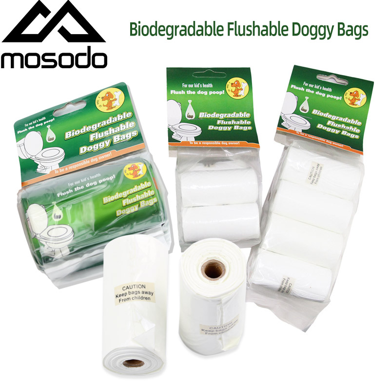 Mosodo Degradable Poop Bag Pet Dog Poop Bag Pet Dog Bag Dog Waste Bag Dog Excrement Bag Dog Pet Garbage Bag Roll For Small Dog