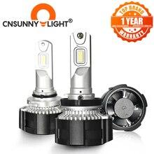 CNSUNNYLIGHT Siêu Sáng H7 H4 LED H11 H8 110W 16000Lm D1 Bóng Đèn Pha HB4 9005 HB3 Đèn Tự Động 6500K Ô Tô Phụ Kiện