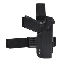 Funda táctica para pistola Glock 17 19 22 23 26 31, funda militar para pierna de combate, muslo, funda, accesorios de caza