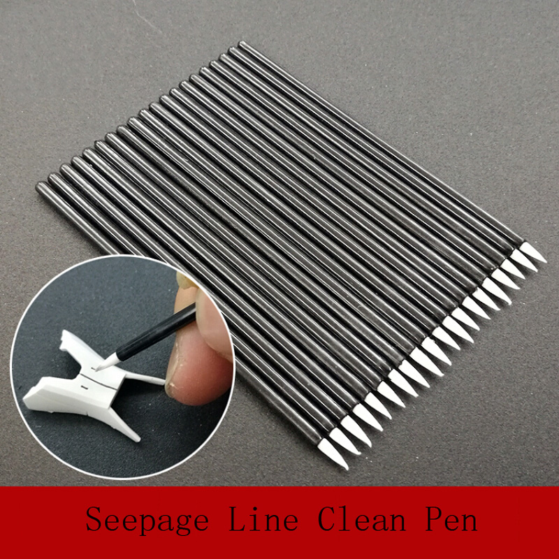 For Gundam Model Seepage Line One Piece Parts Hook Line Clean Seepage Line Cleaning Pen
