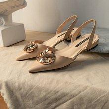 2020 Summer Women Shoes Classics Platform Pointed Toe