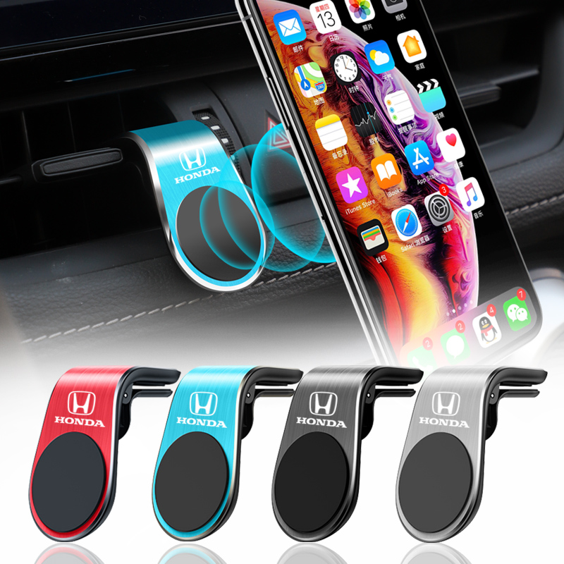 Магнитный держатель для телефона, автомобильная подставка с креплением на вентиляционное отверстие для Honda Civic Fit Accord Odyssey City HRV CRV Pilot Jazz Legend ...