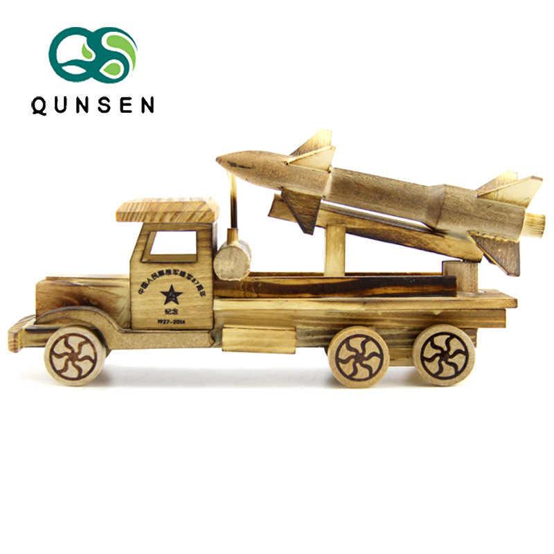 Hout KINDEREN Speelgoed Model Raket Auto Model Decoratie Ambachten Fabrikanten Direct Selling Scenic Gebied Speciaal voor Groothandel