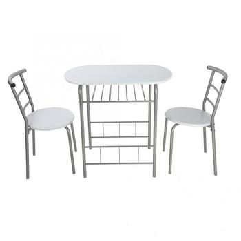 3Pcs Breakfast Table Chairs 1