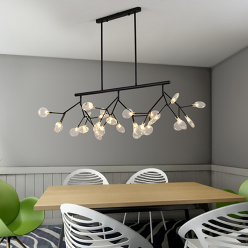 Nordic Creative LED Pendant Lights Hanging Lamp Modern Art Creative Lighting Tree Branch Dining Room Lamp Modern Pendant Light|Pendant Lights| |  - title=