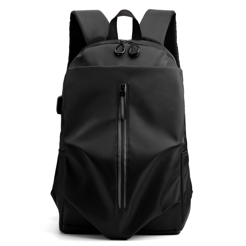 New Men Backpack For 15.6 Inches Laptop Back Pack Large Capacity Stundet Backpacks Pleated Casual Style Bag Water Repellent 2019
