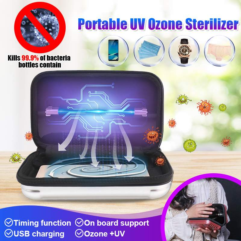 Household Clothes Ozone UV Sterilizers Baby Bottle Clothing Underwear Beauty Tools Disinfection Cabinet Sterilization Box