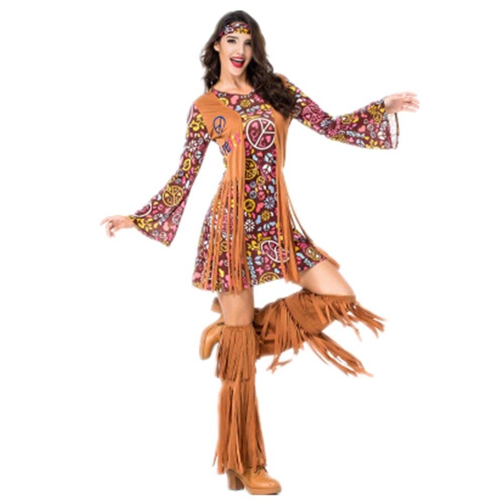 Womens Ladies Orange Tube Jumpsuit 1970S Fancy Dress Costume Groovy Outfit