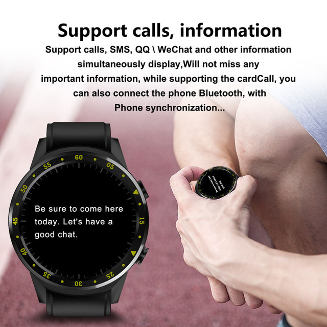 F1 Smart watch GPS watch Heart Rate tracker men smartwatch Multi-sport Mode SIM Card Pedometer for Android Ios Phones 6