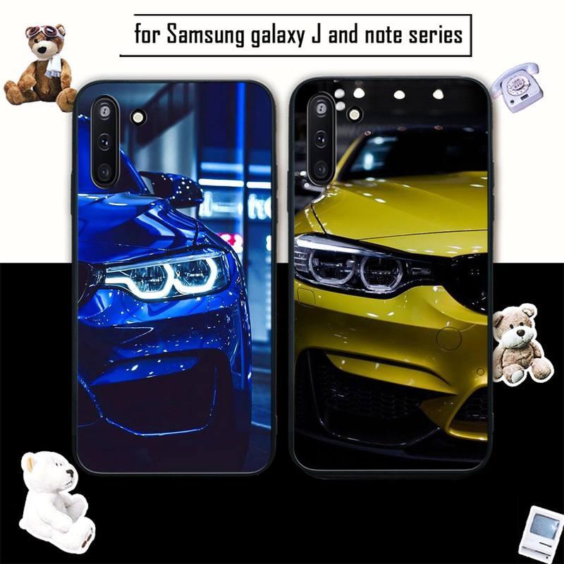 BMW Silicone Black Case Coque For Samsung Galaxy J2 J2 J3 J4 Plus J5 Prime J7 2016 J6 Note 5 8 9 10 Cover